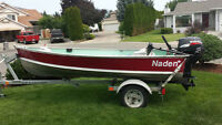2008 Naden 12 ft Aluminum Boat plus many extras