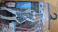 Costume Halloween monster high pour 8-10ans