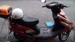 scooter electric (reparation mineur)