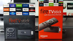 Amazon Fire Stick, New Fire TV (2018) brand new Android box
