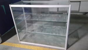 Display Case ( Aluminium ) With Glass - $250 Firm
