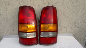 Tail lights and other car parts