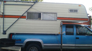 1985 10FT Okanagan Camper and 1993 GMC 3/4 Ton 6.5 Turbo Diesel