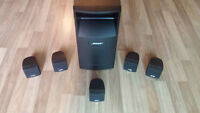 Bose Acoustimass 6 Home Entertainment Speaker System - Black