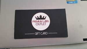 Premium Label Outlet $100 Gift Card