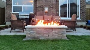 Custom Built Fire Table