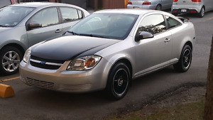 2007 chevy cobalt, low km, 5 speed