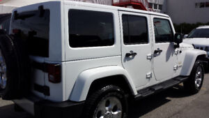 Jeep Wrangler - Sahara Unlimited 2014. Excellent condition