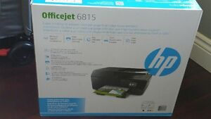 New in Box Officejet 6815e All-in-One Printer