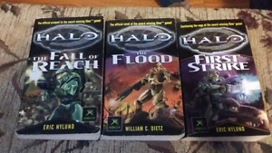 Halo Books trilogy