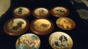 Field puppies plate collection and Stroller Derby - $80