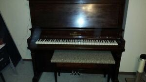 Heintzman & Co. Piano with bench