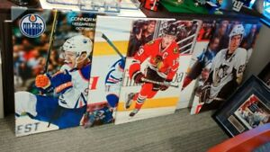 McDavis Crosby Toews Canvas Print  + Jays Bobblehead Estrada