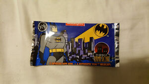 Sealed pack of batman animated series pogs