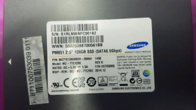 Samsung 128GB SSD PM851 MZ7TE128HMGR