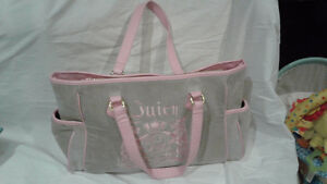 Juicy Couture inspired diaper bag