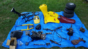Tri zinger complete parts bike