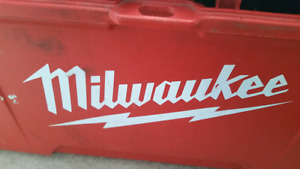 Large  Milwaukee Tool Kit with Tools and Other Stuff  Has about