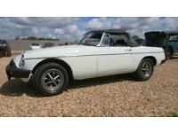 1976 MG Roadster with overrive Convertible Petrol Manual