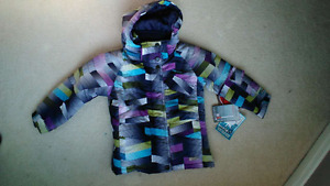 new size 5 winter coat for girl or boy
