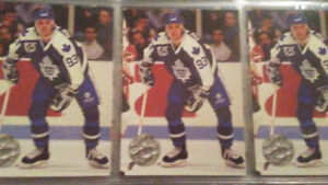 Doug gilmour Toronto maple leafs 1992 card