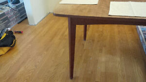 Danish teak dining room table only Kitchener / Waterloo Kitchener Area image 2