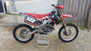 2010 crf 450 lots of motor work done