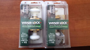 WEISER INTERIOR DOORKNOB SETS