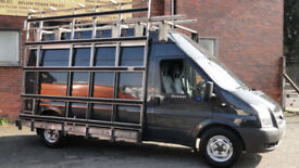 2013 Ford Transit 2.2TDCi ( 125PS ) ( EU5 ) 350L LWB GLASS RACK WITH LADDER