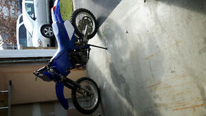 2004 yamaha ttr 250 with ownership fully rebuilt with reciept