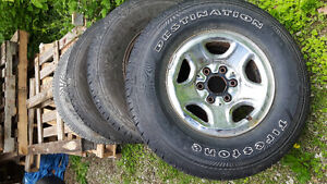 Chev or gmc rims and tires