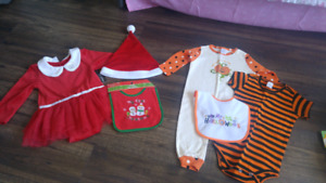 1st Halloween/Christmas Suits