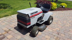 14 HP Riding Craftsman Lawnmower