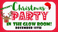 Christmas Party in The Glow Room