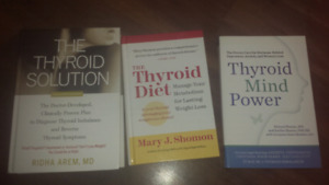 Thyroid books  ( thyroid diet and other titles )