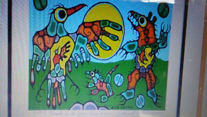 Norval Morrisseau limited Edition. (Brother's)