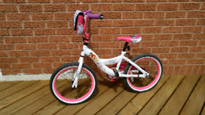 GIRLS 18 INCH PRINCESS BICYCLE