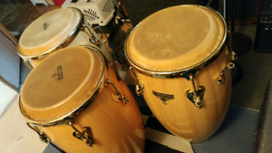 Matador Gold Hardware Delux Congas by LP