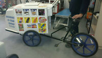 COMPLETE LUCRATIVE BICYCLE ICE CREAM BUSINESS FOR SALE