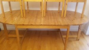 Dining Table + 4 Chairs - Accepting Offers