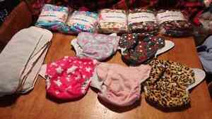 """""""Girl"""" cloth diapers"""