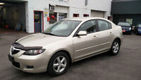 2007 Mazda 3 115,000KM 5 speed Safety/E-tested! Kitchener / Waterloo Kitchener Area Preview