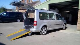 2011 VW Volkswagen Caddy Maxi Life 1.6TDI Wheelchair Disabled Accessible Vehicle