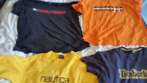 MENS Designer t-shirt lot(20) as is whole lot $60!!!