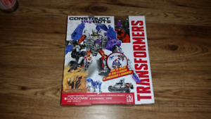 Transformers construct-bots Dinobot buildable action figure NEW
