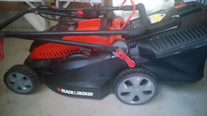 Black and Decker Electric Lawn mower, almost like new