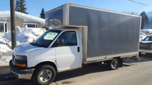 2004 chevy express 1500 cube van