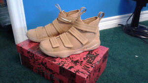 LeBron Soldier 11 Gold and mustard $130 size 8.5