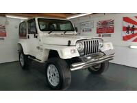 Jeep Wrangler 4.0 auto white hard top fresh import corrosion free 1998