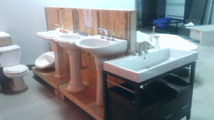 Bathroom fixtures & plumbing for sale